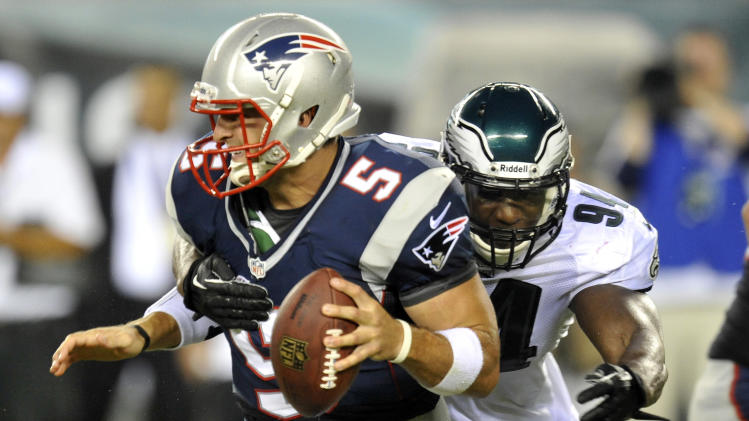NFL: Preseason-New England Patriots at Philadelphia Eagles