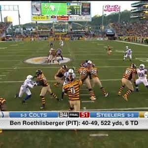 Pittsburgh Steelers QB Ben Roethlisberger goes Big