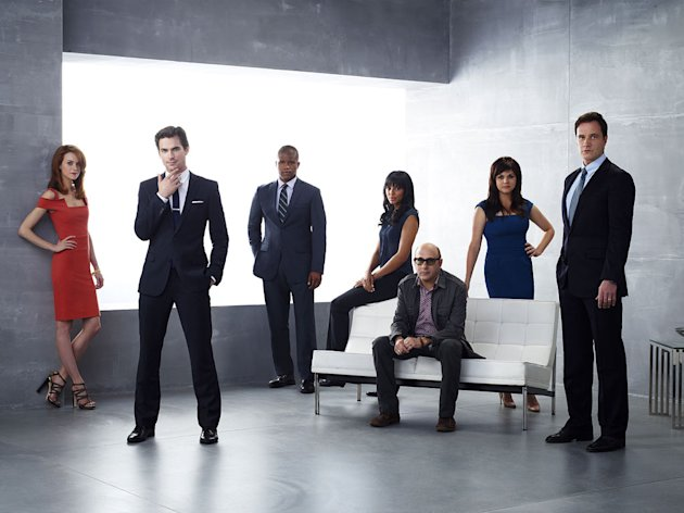 "The cast of ""White Collar."""