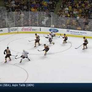 Tuukka Rask Save on Mike Fisher (16:52/3rd)