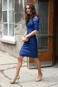 Kate Middleton Erdem dress Canada