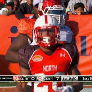 Reese's Senior Bowl: Nebraska running back Ameer Abdullah highlights