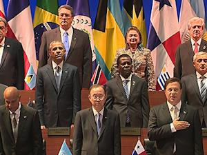 Raw: Leaders Gather for Summit of the Americas
