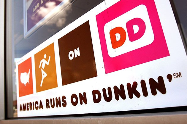 Dunkin' Donuts sign in Chicago, Illinois (Tim Boyle/Getty)
