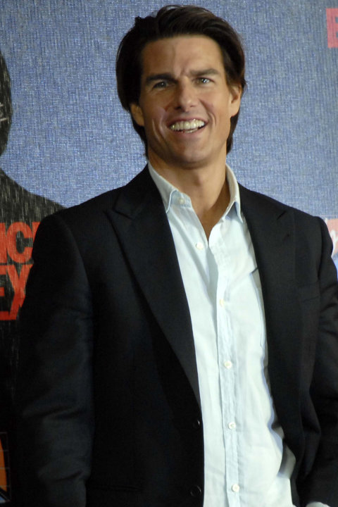 MÉXICO, D.F., Actor-Tom Cruise