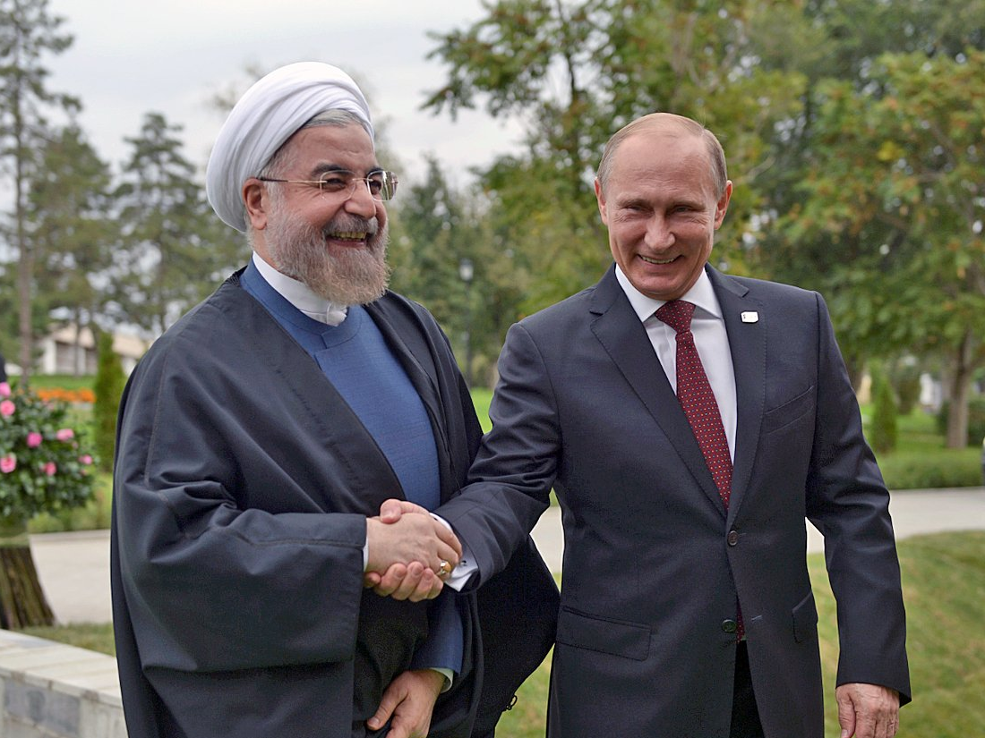 Putin likes the Iran deal