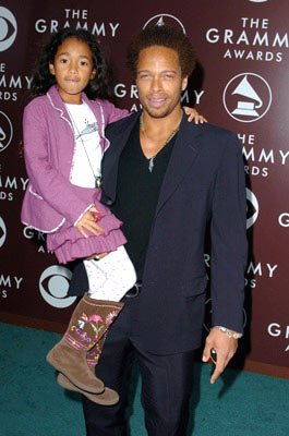 Gary Dourdan with daughter Nyla
