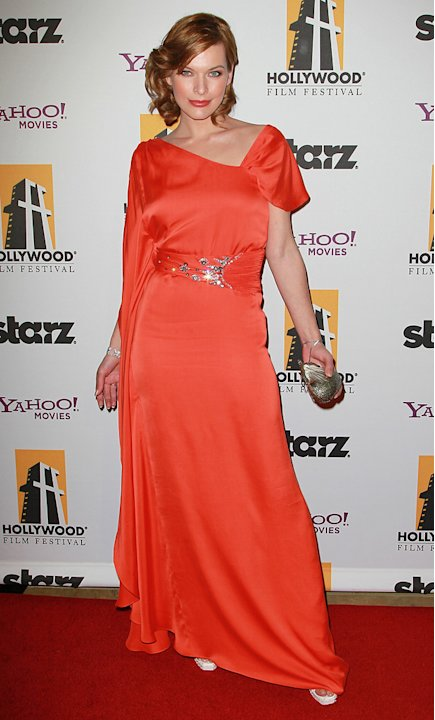2010 Hollywood Awards Milla Jovovich