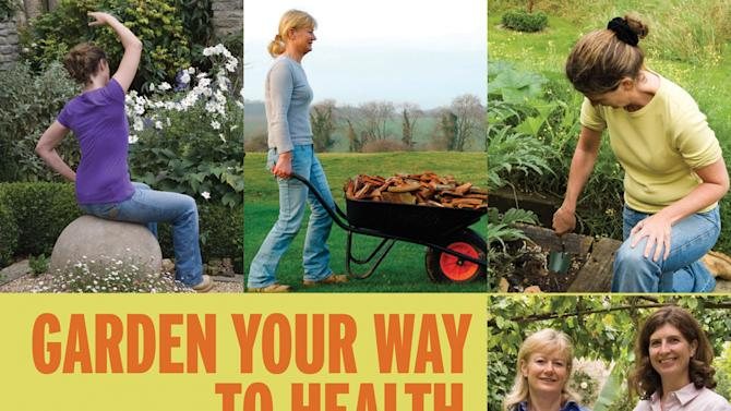 """This undated publicity photo released by courtesy Timber Press shows the book cover of """"Garden Your Way To Health and Fitness,"""" by Bunny Guinness and Jacqueline Knox (Design, Bunny Guinness). (AP Photo/Courtesy Timber Press)"""