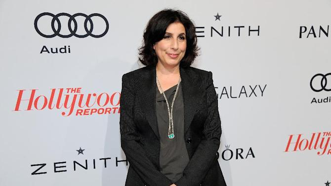 Warner Bros. Pictures President of Worldwide Marketing Sue Kroll arrives at The Hollywood Reporter Nominees' Night at Spago on Monday, Feb. 4, 2013, in Beverly Hills, Calif. (Photo by Chris Pizzello/Invision for The Hollywood Reporter/AP Images)