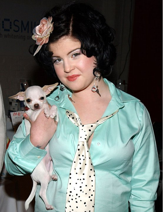 Kelly Osbourne and dog Boris
