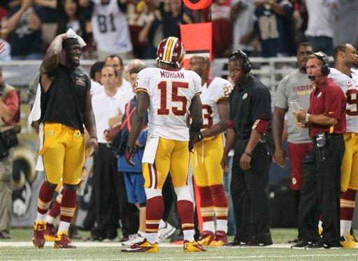 Rams rally in 2nd half, beat Redskins 31-28