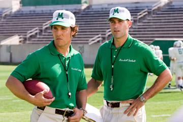 Matthew McConaughey and Matthew Fox in Warner Bros. Pictures' We Are Marshall