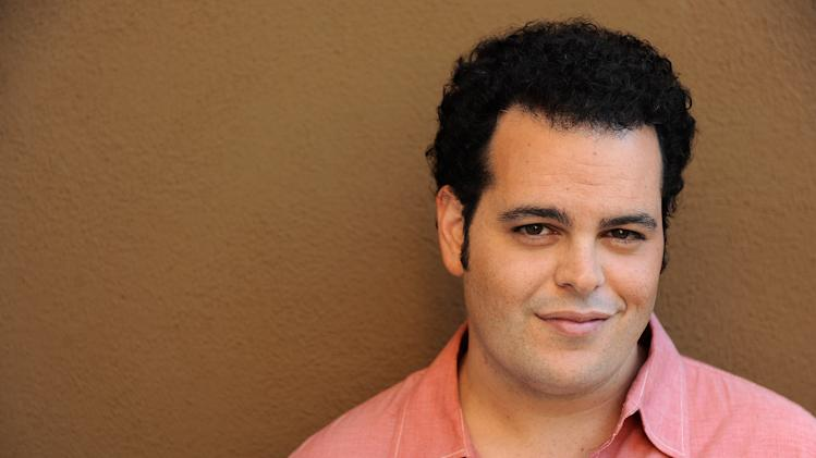 "FILE - In this Monday, Sept. 16, 2013 file photo, Josh Gad poses for a portrait at the Four Seasons Hotel, in Los Angeles. Gad has a spate of acting and writing projects in the works, including an upcoming TV show with Billy Crystal and starring role in a Sam Kinison biopic, plus ""Thanks for Sharing,"" in theaters Friday, Sept. 20, 2013. (Photo by Jordan Strauss/Invision/AP, File)"