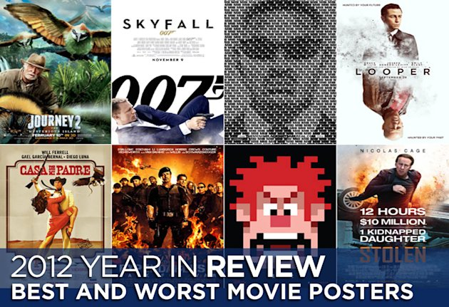 Best and Worst Movie Posters 2012