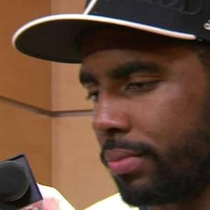 Irving Discusses His Knee And Celebrating