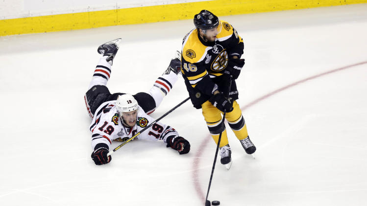 NHL: Stanley Cup Final-Chicago Blackhawks at Boston Bruins