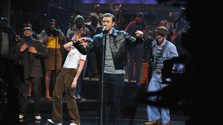 "Justin Timberlake Visits ""Late Night With Jimmy Fallon"""