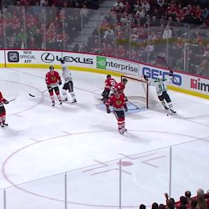 Eaves' 1st-period goal