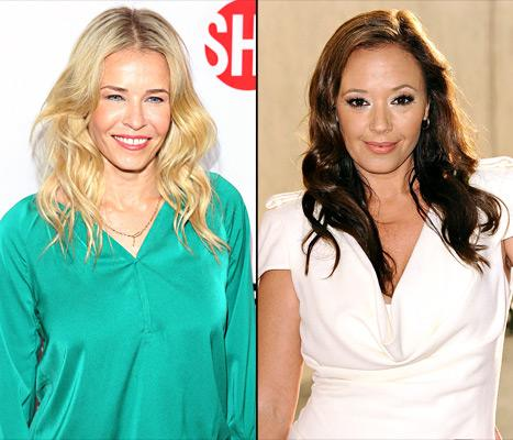 "Chelsea Handler Jokes Leah Remini ""Can't Dance"" on Dancing With the Stars"