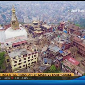 Death toll still rising after massive earthquake