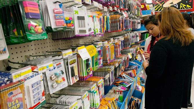 Surprising items on back-to-school shopping lists