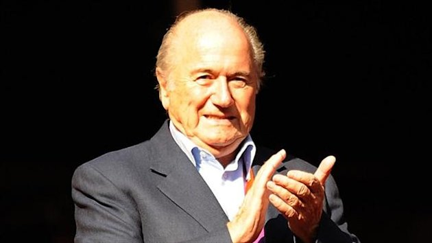Sepp Blatter, pictured, congratulated Sheikh Salman Bin Ebrahim Al Khalifa on 'a brilliant election'