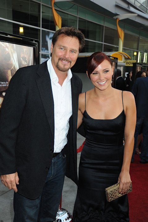 Sorority Row LA Premiere 2009 Greg Evigan Briana Evigan