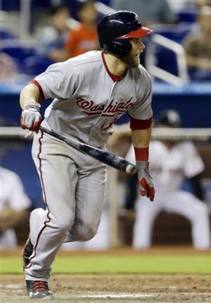 Bryce Harper leads Nationals past Marlins 6-1