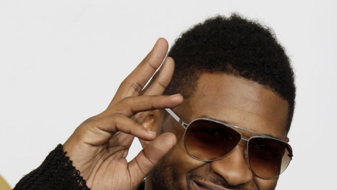 FILE -  This is Sunday, Feb. 13, 2011,  file photo of US R&B star  Usher poses backstage at the 53rd annual Grammy Awards  in Los Angeles.   Usher says he still feels 21, despite celebrating his 34th birthday Sunday Oct. 14, 2012. The singer partied in London with a host of British singing talent on Saturday night, including Leona Lewis, Tinie Tempah, Dizzee Rascal and JLS star Ortisé Williams, but says that's not where the party ends,(AP Photo/Jae C. Hong)