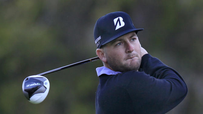 Matt Every hits his tee shot on the 10th hole during the first round of the Children's Miracle Network Hospitals Classic golf tournament in Lake Buena Vista, Fla., on Thursday, Nov. 8, 2012. (AP Photo/Julie Fletcher)