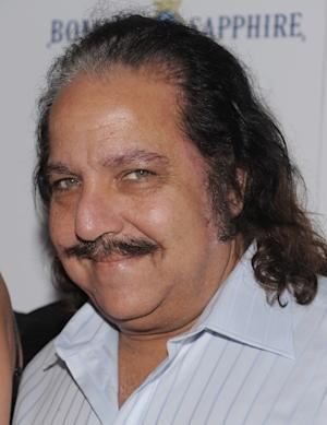 """Adult film star Ron Jeremy attends a Cinema Society screening of """"Ghost Town"""" at the IFC Center Monday, Sept. 15, 2008 in New York. Jeremy is recovering from surgery at a Los Angeles hospital after an aneurysm near his heart sent him to intensive care. Agent Mike Esterman says in an email to The Associated Press that he and others were waiting for Jeremy to awake Wednesday night Jan. 30, 2013 after a smooth procedure at Cedars-Sinai Medical Center. (AP Photo/Evan Agostini)"""