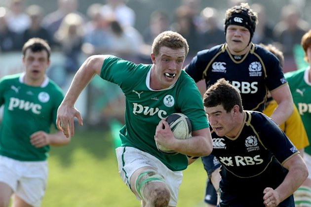 Here's the Ireland squad for the U20 Six Nations