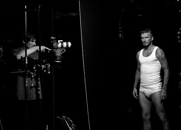David Beckham Poses In His Pants (Again) For Latest H&M Bodywear Campaign: Sneak Preview