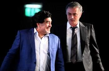Maradona: Mourinho is one of the world's top coaches
