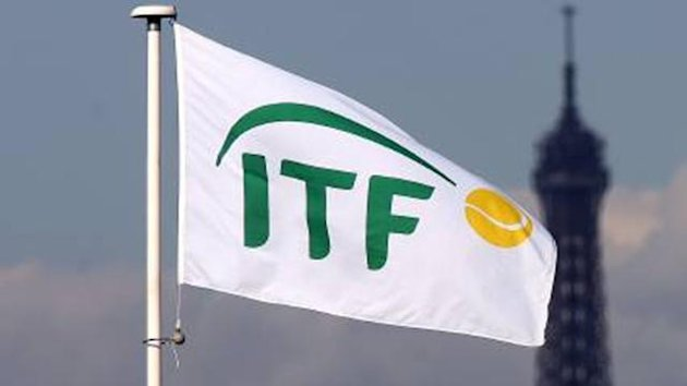 TENNIS ITF flag logo