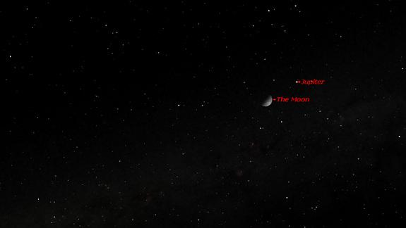 See the Moon Meet Jupiter in Sunday Night Sky: Where to Look