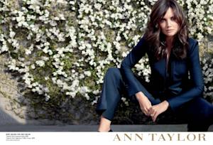 Katie Holmes as the new face of Ann Taylor -- Ann Taylor