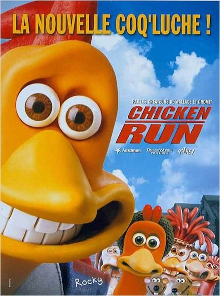 Chicken run, de Peter Lord, Nick Park (2000) Le top 5 de Nathalie Arthaud