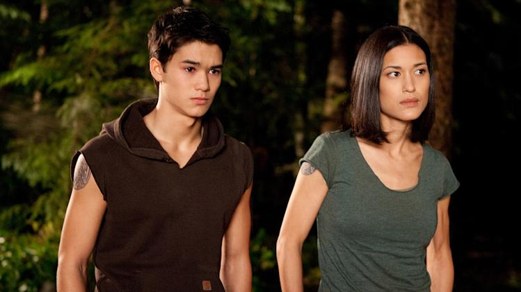 The Twilight Saga breaking Dawn Part 1 2011 Summit Entertainment BooBoo Stewart Julia Jones