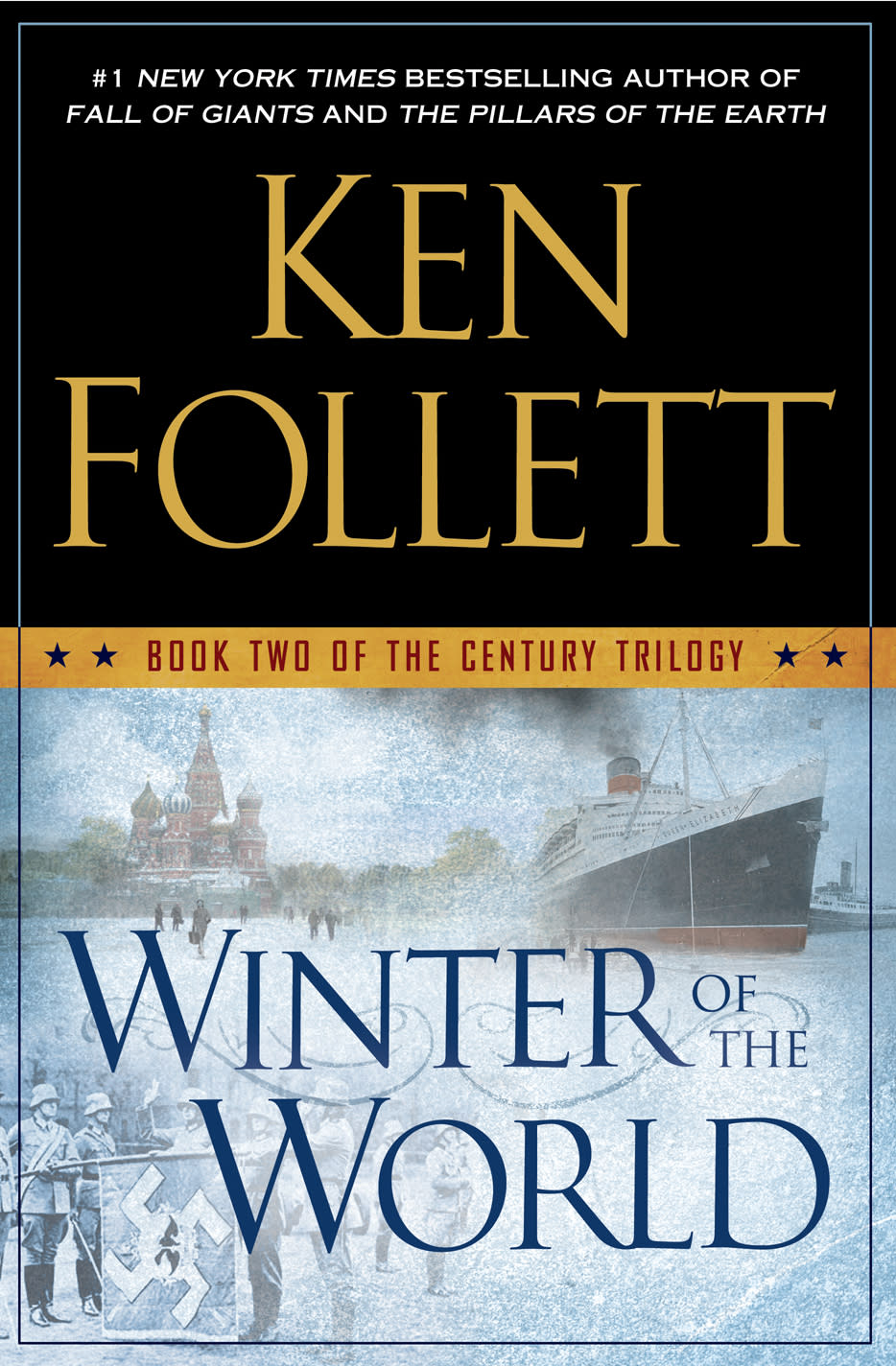 "This book cover image released by Dutton shows ""Winter of the World,"" by Ken Follett. The book, the second of his ""Century"" trilogy on war, will be released on Sept. 18. (AP Photo/Dutton)"