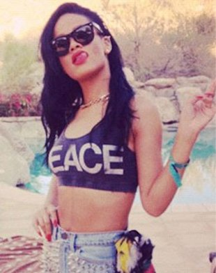 Rihanna: 'Katy Perry Ate My A** At Coachella Festival'