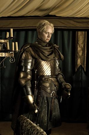 Gwendoline Christie as Brienne in 'Game of Thrones' Season 2 -- Helen Sloan/HBO