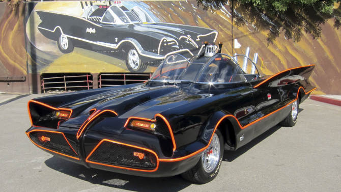 "''Holy windfall"": Batmobile sells for $4.2M"