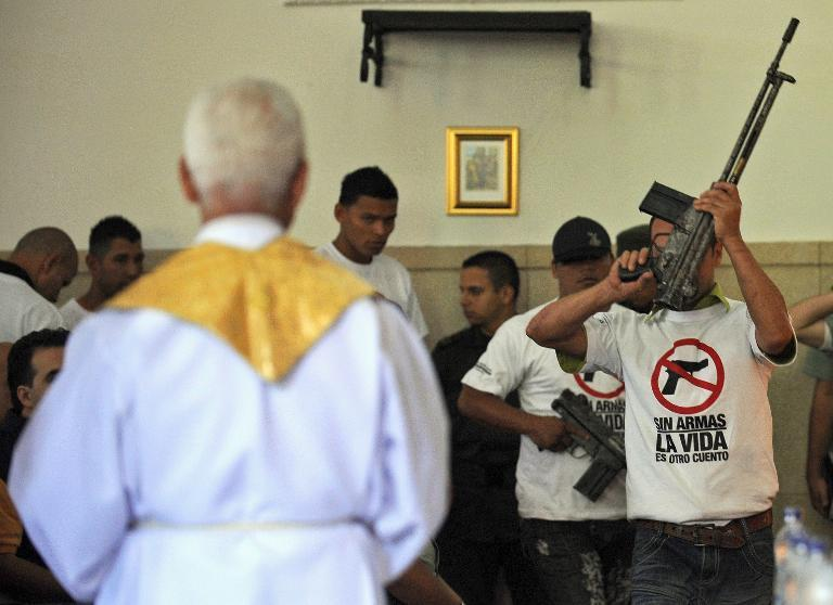 Colombia nabs fugitive priest linked to criminal gangs