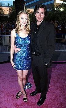 Premiere: Heather Graham (Felicity Shagwell) and Edward Burns (director of She's The One and The Brothers McMullen, and star of Saving Private Ryan) at the Los Angeles premiere for Austin Powers: The Spy Who Shagged Me