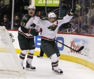Wild make playoffs with 3-1 win over Avalanche