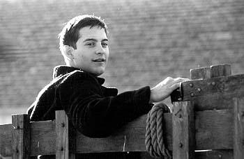 Tobey Maguire as Homer Wells in Miramax's The Cider House Rules