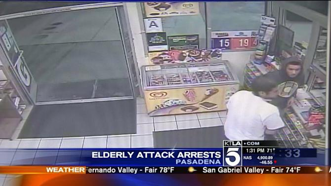 Arrests Made in Robbery, Assault of 87-Year-Old Man in Pasadena