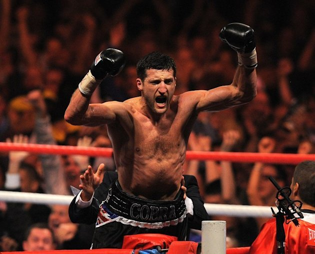Carl Froch of Britain, pictured on May 26, 2012